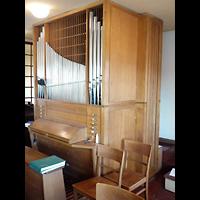 Berlin - Lichtenberg, Dorfkirche Malchow, Orgel