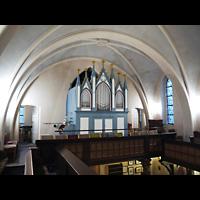 Berlin - Marzahn, Dorfkirche, Orgelempore