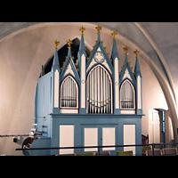 Berlin - Marzahn, Dorfkirche, Orgel seitlich