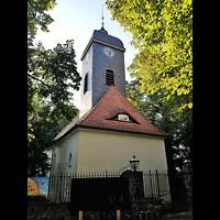 Berlin - Neukölln, Dorfkirche Rixdorf (Bethlehemskirche), Kirchturm