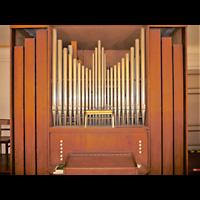 Berlin - Neukölln, Dorfkirche Rixdorf (Bethlehemskirche), Orgel