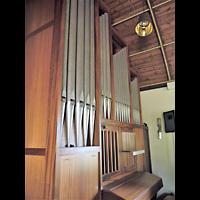 Berlin - Rudow, Dorfkirche, Orgel seitlich