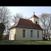 Berlin - Köpenick, Dorfkirche Schmöckwitz, Außenansicht der Kirche
