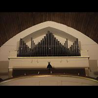 Berlin (Weißensee), Dorfkirche - Hauptorgel, Emporenorgel (Eule-Orgel)