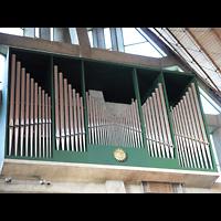 Berlin - Neukölln, Dreieinigkeitskirche Gropiusstadt, Orgel