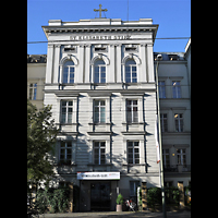 Berlin (Prenzlauer Berg), Elisabethstift, Hauskapelle, Außenansicht