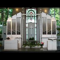 Berlin - Zehlendorf, Evangelisch-Freikirchliche Gemeinde (Baptisten), Kirche am Immanuel-Krankenhaus (Wannsee), Orgel
