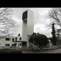 Berlin - Neukölln, Gemeindezentrum Neu-Buckow (Hauptorgel), Glockenturm