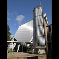 Berlin - Charlottenburg, Ev. Kirche Alt-Lietzow (Dorfkirche Lietzow), Glockenturm