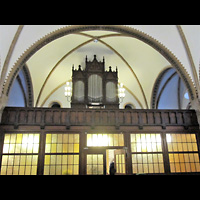 Berlin - Treptow, Ev. Kirche Altglienicke (Hauptorgel), Orgelempore