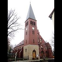 Berlin - Treptow, Ev. Kirche Altglienicke (Hauptorgel), Turm