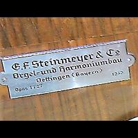Berlin - Friedrichshain, Evangelisch-methodistische Christuskirche (Holzkirche), Erbauerschild