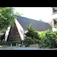 Berlin - Neukölln, Evangelisch-methodistische Salemkirche, Außenansicht der Kirche
