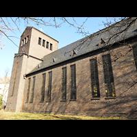 Berlin - Köpenick, Friedenskirche Niederschöneweide, Außenansicht der Kirche