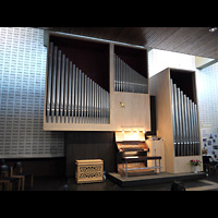 Berlin - Neukölln, Fürbittkirche Britz, Orgel