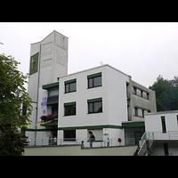 Berlin - Neukölln, Fürbittkirche Britz, Außenansicht der Kirche