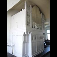 Berlin - Pankow, Gemeindehaus Nordend (Positiv), Orgel seitlich