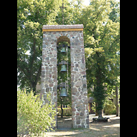 Berlin - Pankow, Gemeindehaus Nordend (Positiv), Glockenturm