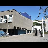Berlin (Charlottenburg), Ökumenisches Gedenkzentrum Plötzensee e.V., Außenansicht der Kirche