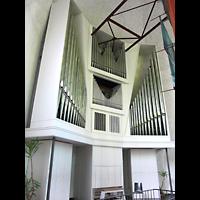 Berlin - Neukölln, Genezareth-Kirche, Orgel seitlich