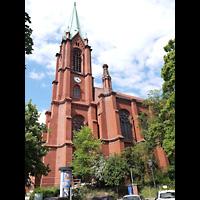 Berlin (Prenzlauer Berg), Gethsemane-Kirche (Positiv), Außenansicht der Kirche