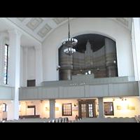 Berlin-Tempelhof, Glaubenskirche, Orgelempore seitlich