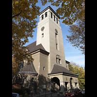Berlin-Tempelhof, Glaubenskirche, Außenansicht der Kirche