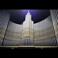 Berlin-Tempelhof, Glaubenskirche, Bemalte Prospektpfeifen