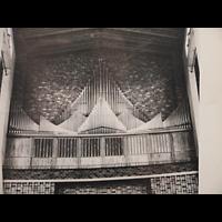 Berlin (Charlottenburg), Gustav-Adolf-Kirche, Ehemalige Sauer-Orgel von 1934 (1970 abgebaut)