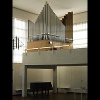 Berlin - Neukölln, Herrnhuter Brüdergemeinde, Orgelempore
