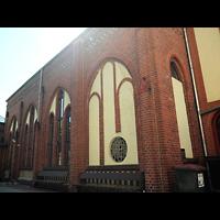 Berlin - Köpenick, Hofkirche Köpenick (Baptisten), Außenansicht der Kirche