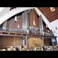 Berlin (Reinickendorf), Johanneskirche Frohnau, Orgel mit Spieltisch