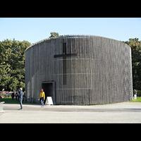 Berlin - Mitte, Kapelle der Versöhnung, Außenansicht der Kirche