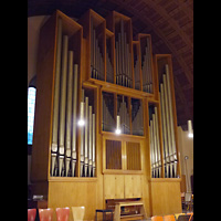 Berlin - Wedding, Kapernaumkirche, Orgel seitlich