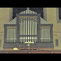 Berlin - Pankow, Katharinenstift, Mater Dolorosa (ehem. St. Gertrud), Orgel