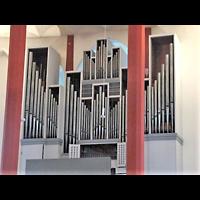 Berlin - Tempelhof, Kirche auf dem Tempelhofer Feld, Orgel