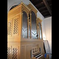 Berlin - Zehlendorf, Kirchen am Stölpchensee, Orgel seitlich