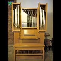 Berlin - Treptow, Krankenhaus Hedwigshoehe, Kapelle (Alexianer), Orgel