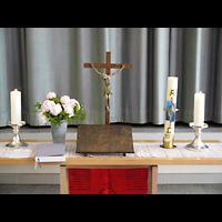Berlin - Schöneberg, Luther-Kirchsaal, Altar