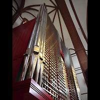 Berlin - Spandau, Lutherkirche, Orgel perspektivisch