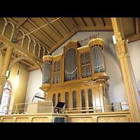 Berlin - Neukölln, Magdalenenkirche, Orgelempore