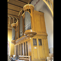 Berlin - Neukölln, Magdalenenkirche, Orgel seitlich
