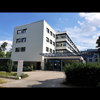 Berlin - Charlottenburg, Malteser-Krankenhaus, Kapelle, Außenansicht