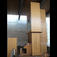Berlin - Charlottenburg, Maria Regina Martyrum, Orgel seitlich