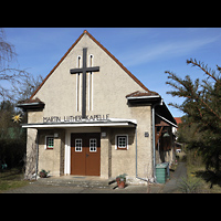 Berlin - Köpenick, Marin-Luther-Kapelle, Außenansicht der Kirche