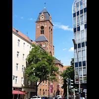 Berlin - Neukölln, Martin-Luther-Kirche, Turm