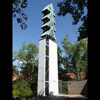 Berlin - Charlottenburg, Neu-Westend-Kirche, Glockenturm