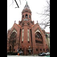 Berlin - Kreuzberg, Passionskirche, Außenansicht der Kirche