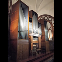 Berlin - Kreuzberg, Passionskirche, Orgel seitlich