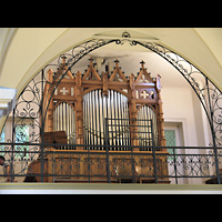 Berlin - Wedding, Paul-Gerhardt Stift, Kapelle, Orgel